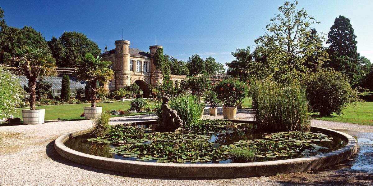 Der Botanische Garten in Karlsruhe;  Foto: Staatliche Schlösser und Gärten Baden-Württemberg, Andrea Rachele