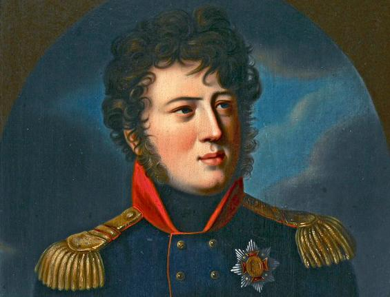 Porträt des Großherzogs Karl aus Schloss Mannheim, um 1806; Foto: Landesmedienzentrum Baden-Württemberg, Arnim Weischer