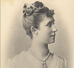 Hilda von Nassau, portrait circa 1885. Image: Wikipedia, in the public domain