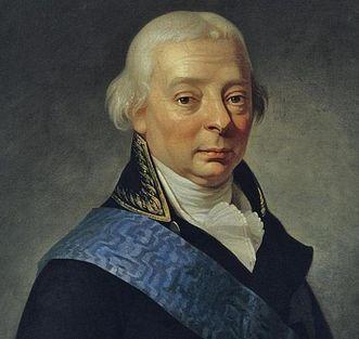 Porträt des Großherzogs Karl Friedrich von Baden um 1790; Foto: Staatliche Schlösser und Gärten Baden-Württemberg, Steffen Hauswirth