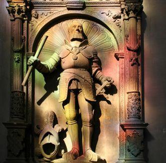 Grabmal Bernhards III. (1474–1536) in Baden-Baden; Foto: Staatliche Schlösser und Gärten Baden-Württemberg, Sandra Eberle