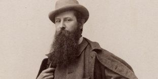 Portrait of Hermann Volz circa 1900