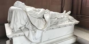 Großherzogliche Grabkapelle Karlsruhe, Grabmal Prinz Ludwig