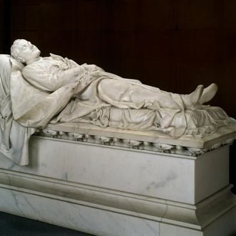 View of the tomb of Prince Ludwig Wilhelm in the Sepulchral Chapel of the Grand Duchy in Karlsruhe. Image: Landesmedienzentrum Baden-Württemberg, credit unknown