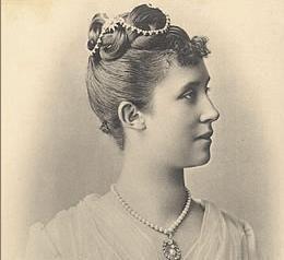 Hilda von Nassau, portrait circa 1885. Image: Wikipedia, in the public domain
