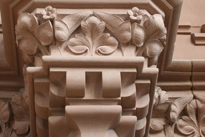 Detail des Innenraums der Großherzoglichen Grabkapelle Karlsruhe
