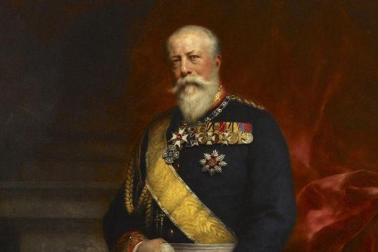 Portrait of Grand Duke Friedrich I von Baden, Ferdinand Keller, oil on canvas, 1900. Image: Staatliche Schlösser und Gärten Baden-Württemberg, Arnim Weischer