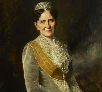Portrait of Grand Duchess Luise Marie Elisabeth von Baden