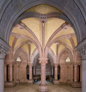 Interior view of the Sepulchral Chapel of the Grand Duchy in Karlsruhe. Image: Landesmedienzentrum Baden-Württemberg, credit unknown