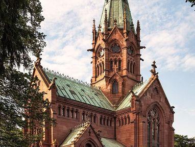 Großherzogliche Grabkapelle Karlsruhe von außen