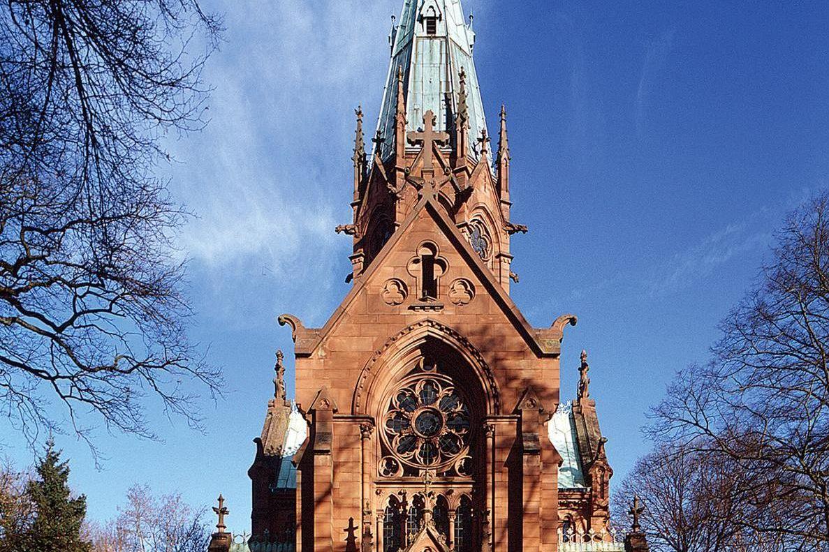 Sepulchral Chapel; photo: Staatliche Schlösser und Gärten Baden-Württemberg, Arnim Weischer