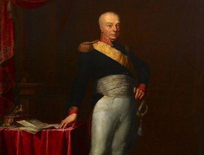 Porträt des Großherzogs Karl Friedrich aus Schloss Mannheim, um 1806